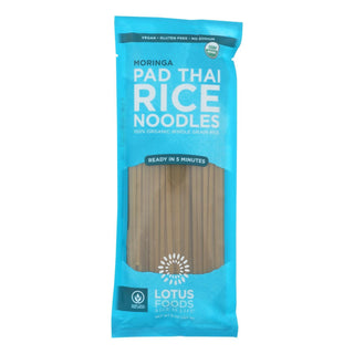 Lotus Foods Moringa Pad Thai Rice Noodles - Case Of 8 - 8 Oz