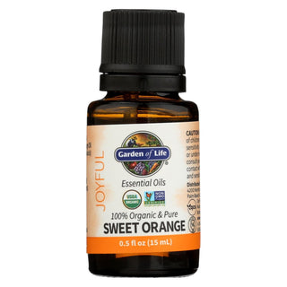 Garden Of Life - Essential Oil Orange - .5 Fz