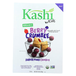 Kashi - Cereal Berry Crumble - Case Of 10 - 10.8 Oz