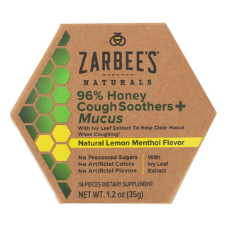 Zarbee's - Cough&mucus Sooth Hny Ivy - 1.2 Fz