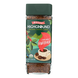 Highground - Coffee Decaf Instant - Case Of 6 - 3.53 Oz