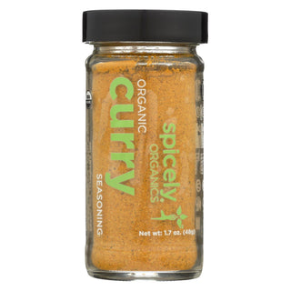 Spicely Organics - Organic Curry - Powder - Case Of 3 - 1.7 Oz.