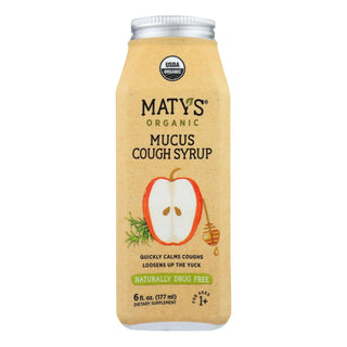 Maty's - Organic Mucus Cough Syrup - 6 Fl Oz.