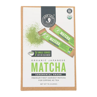 Jade Leaf Organics - Tea - Ceremonial Matcha - Case Of 8 - 0.7 Oz.