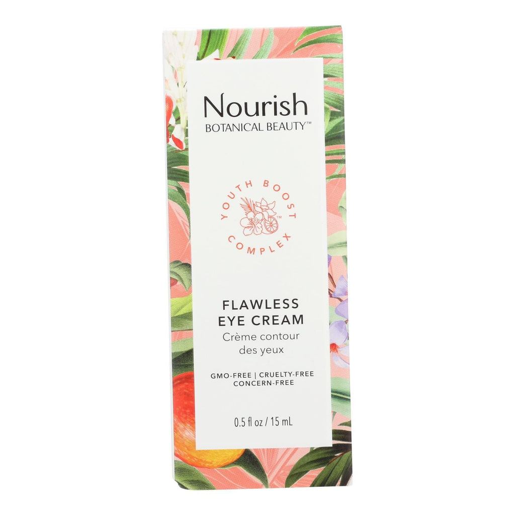 Nourish Botanical Beauty - Eye Cream Flawless - 1 Each - 0.5 Fz