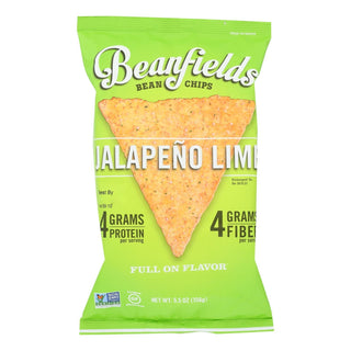 Beanfields - Bean Chip Jalapeno Lime - Case Of 6 - 5.5 Oz