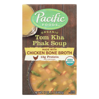 Pacific Natural Foods - Soup Tom Kha Phak - Case Of 12 - 17 Oz