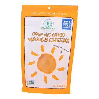 Natierra - Dried Mango Organic Cheeks - Case Of 6 - 8 Oz
