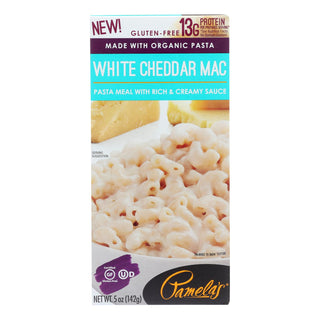 Pamela's Products - Pasta White Cheddar - Case Of 12 - 5 Oz