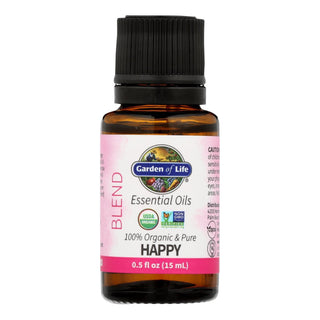 Garden Of Life - Ess Oil Organic Happy Blend - 1 Each-.5 Fz