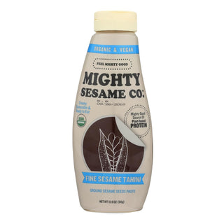 Mighty Sesame Company - Tahini Organic Fine Sesame - Case Of 8 - 10.9 Oz