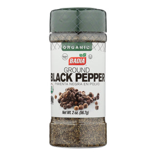 Badia Spices - Spice Black Pepper Ground - Case Of 8-2 Oz