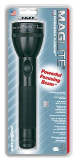 Maglite Incandescent 2-Cell C Flashlight Black