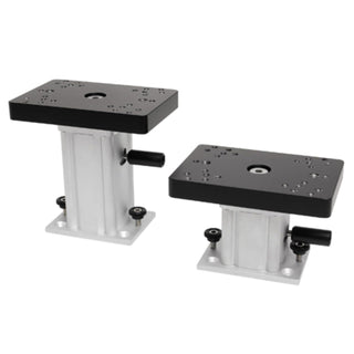 Cannon 4 In. AlumInum Swivel Base Pedestal Mount