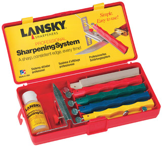 Lansky Professional Controlled-Angle Knife Sharpening System