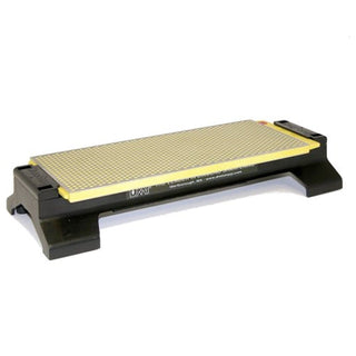 DMT 10 Inch DuoSharp Bench Stone Extra-Fine-Fine with Base