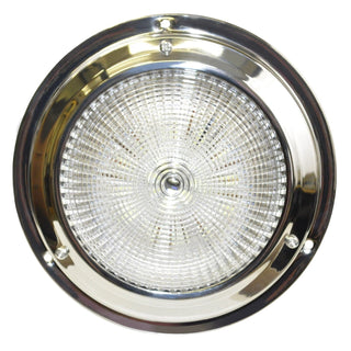 SeaSense 5-1 2in Dome 18 LED White Stainless Steel Light
