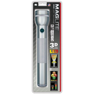 Maglite 3 Cell D LED Flashlight Gray ST3D096