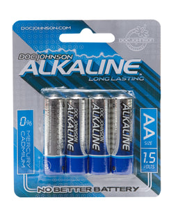 Doc Johnson Aa Batteries 4 Pack Alkaline Cd