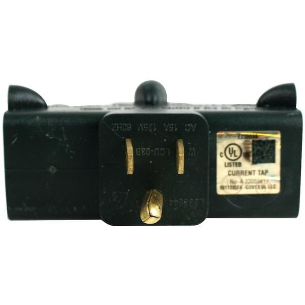 3-Outlet Heavy-Duty Grounded Adapter