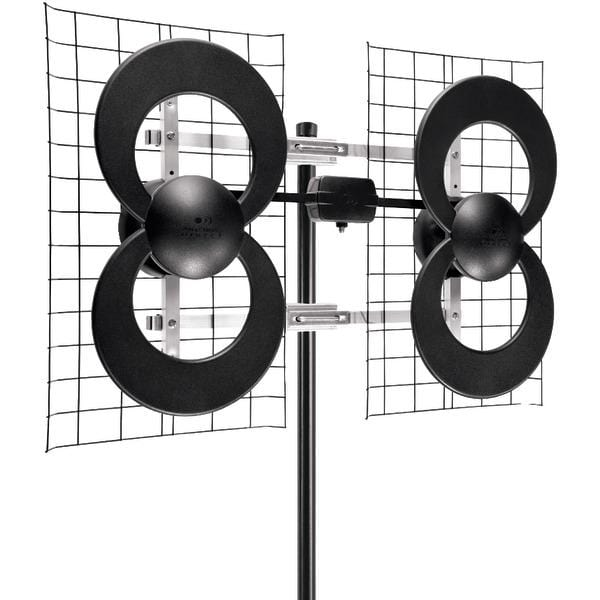 "ClearStream(TM) 4 Quad-Loop UHF Outdoor Antenna with 20"" Mount"