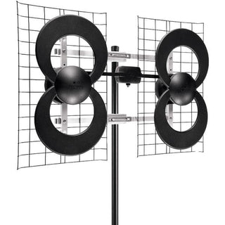 "Antennas Direct C4-CJM ClearStream 4 UHF Outdoor Antenna with 20"" Mount"