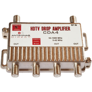 Output TV-CATV Distribution Amp (4 Way)