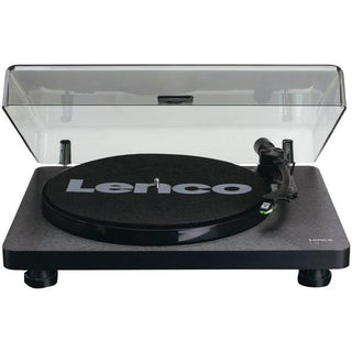 L-30 Belt-Drive Turntable with Auto Stop and PC Encoding (Black Wood Base)