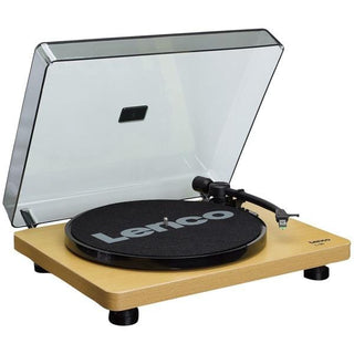 L-30 Belt-Drive Turntable with Auto Stop and PC Encoding (Wood Base)