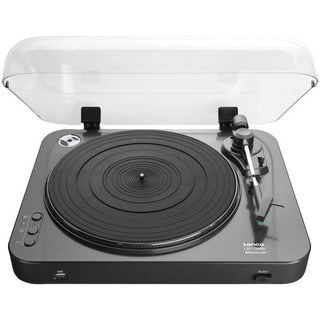 L-120BK USB Direct-Recording Belt-Drive Turntable with Bluetooth(R)