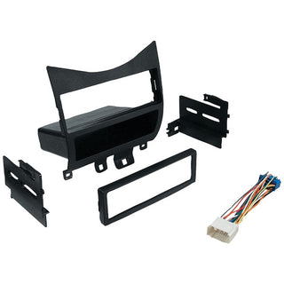 In-Dash Installation Kit (Honda Accord 2003-2007 with Harness, Radio Relocation to Factory Pocket Single-DIN)