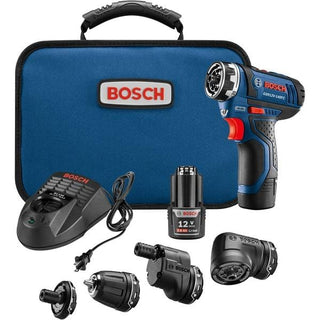 12-Volt MAX Flexiclick(R) 5-in-1 Drill-Driver System