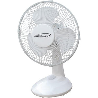 "9"" Oscillating Desk Fan"