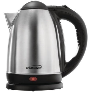 Brentwood Appliances KT-1790 1.7-Liter Stainless Steel Electric Cordless Tea Kettle