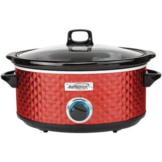 7-Quart Slow Cooker (Red)