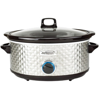 Brentwood Appliances SC-157S 7-Quart Slow Cooker (Silver)