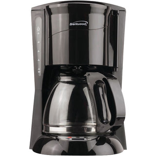 Brentwood Appliances TS-218B 12-Cup Coffee Maker (Black; Digital)