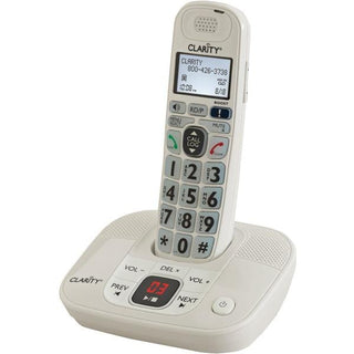 Clarity 53712.000 DECT 6.0 Amplified Cordless Phone System with Digital Answering System