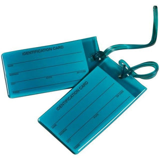 Jelly Luggage Tags, 2 pk