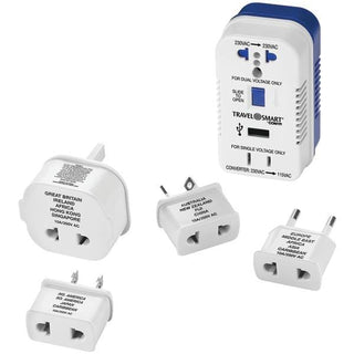 2-Outlet, 1,875-Watt Converter for Single- & Dual-Voltage Appliances