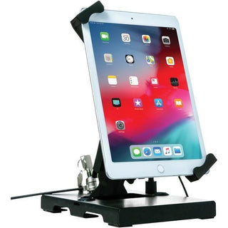 Flat-Folding Tabletop Security Stand for 7-Inch to 14-Inch Tablets
