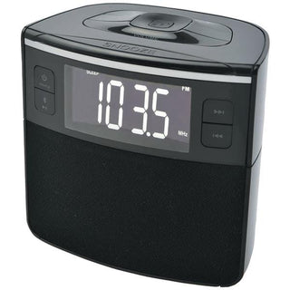 Bluetooth(R) Clock Radio with Auto-Set Dual Alarm Clock & USB Charging
