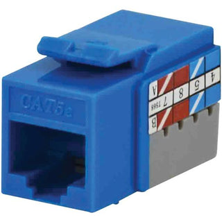 CAT-5E Jacks, 10 Pack (Blue)