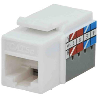 CAT-5E Jacks, 10 Pack (White)