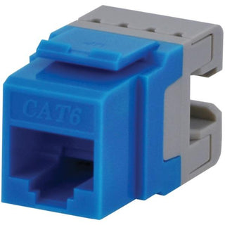CAT-6 Jacks, 10 Pack (Blue)