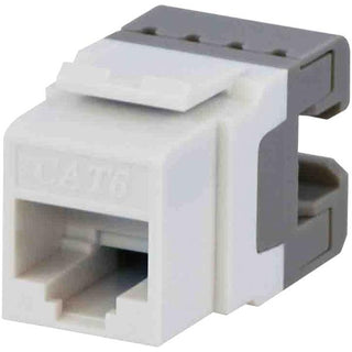 CAT-6 Jacks, 10 Pack (White)