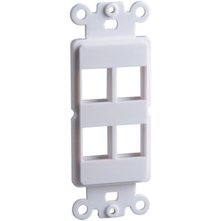 4-Port Keystone Decor Insert