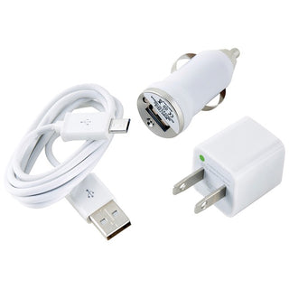 Charge & Sync Kit with Micro USB to USB Cable