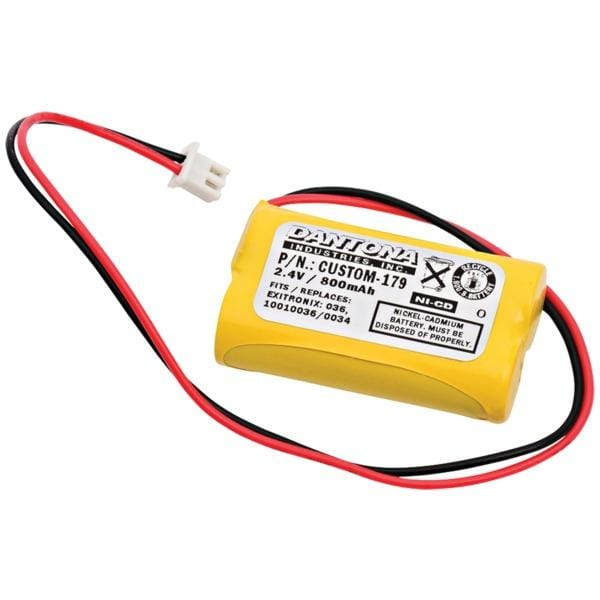 CUSTOM-179 Rechargeable Replacement Battery