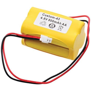CUSTOM-43 Rechargeable Replacement Battery
